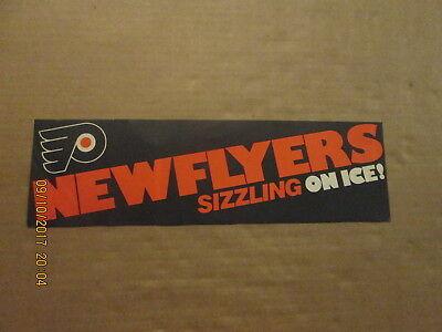 NHL Philadelphia Flyers NEW FLYERS SIZZLING ON ICE!Vintage 1