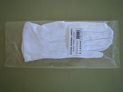 US ARMY GI ALL ENLISTED NCO OFFICER RANKS FORMAL EVENING DRESS GLOVES XL - Evening Glove : Collection Apparel