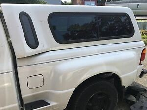 Ford ranger step side canopy