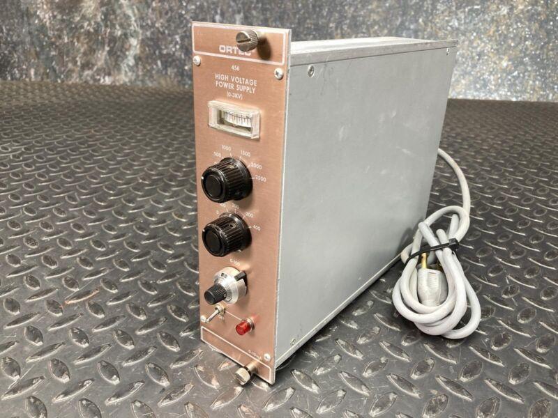 Ortec 456 High Voltage Power Supply 0-2.5 kV Nim Bin Module - Parts