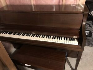 Upright Lesage Piano (1986) in excellent condition.