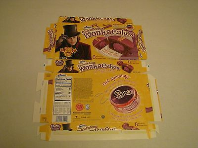 Hostess  Interstate Brands  Wonka Cakes Cupcakes Empty Collectible Box