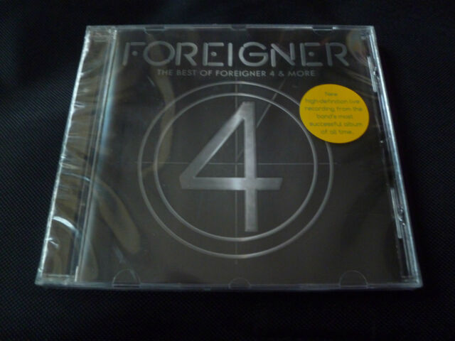 Foreigner - The Best of 4 & More CD HURRICANE DOKKEN KELLY HANSEN UNRULY CHILD