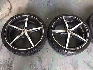 Pdw 18 inch alloy wheels Keysborough Greater Dandenong Preview