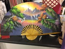 Large fan wall hanging Monkland Gympie Area Preview