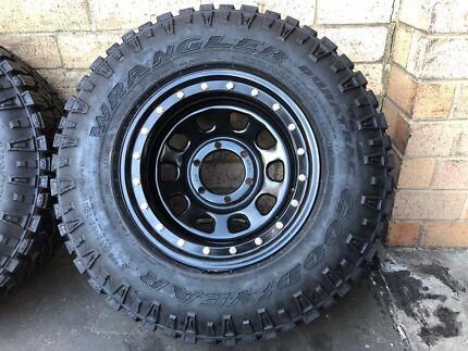32inch Mud Terrain 1 Week Old Wheels Tyres Rims Gumtree