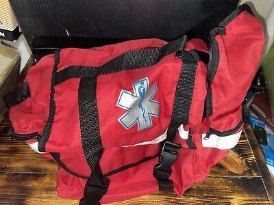 First Responder Trauma Bag Red 600d