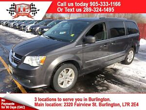 2017 Dodge Grand Caravan Crew. 3rd Row Seating, Power Group, 80,