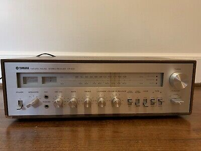 Vintage Yamaha CR-600 AM/FM Natural Sound Stereo Receiver