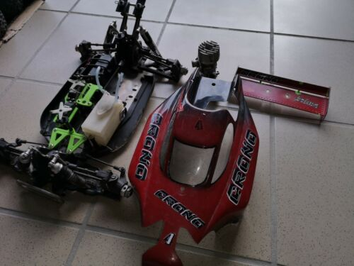Rc Buggy Chassis Crono Prima Verbrenner 1:8