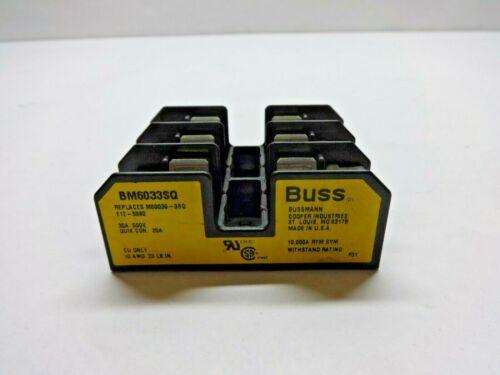 Bussman Eaton Midget Fuse Block BM6033SQ