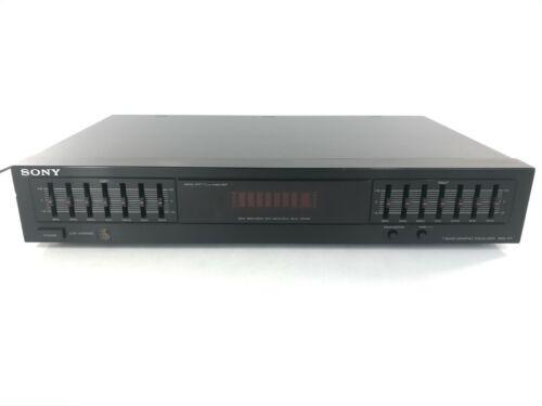 Sony SEQ-411 Graphic Stereo Equalizer 7 Band Spectrum Analyzer 110v & 220v Japan