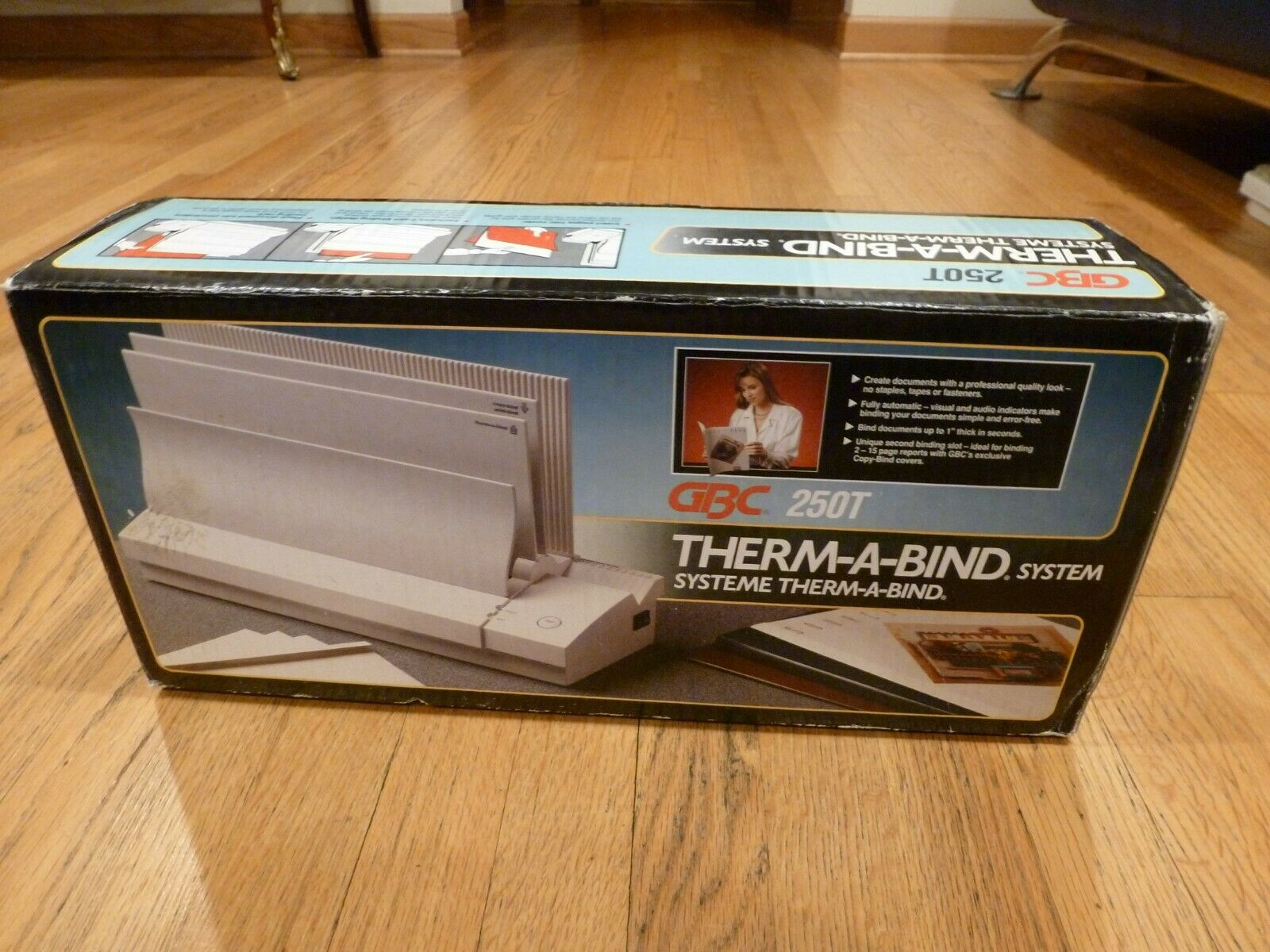 GBC THERM-A-BIND System 250T Automatic Thermal Binding Binde