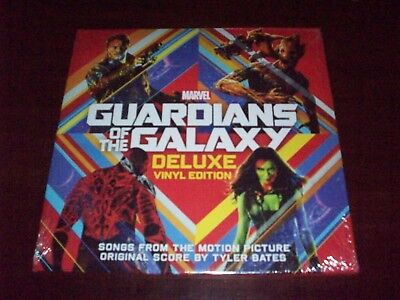 Guardians Of The Galaxy  Original Soundtrack 2014 Hollywood Press New Sealed