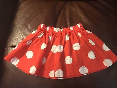 Minnie Mouse Costume For Toddlers (Red with White Polka Dots Skirt for Toddlers - for Minnie Mouse)