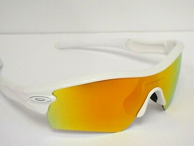 Authentic Oakley Customized Radar Pearl White Fire Iridium Sunglasses $280**, used for sale  Richmond Hill