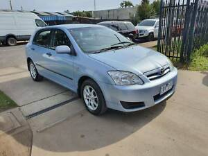 2004 Toyota Corolla ASCENT SECA Hatchback VERY LOW KMS MANUAL Williamstown North Hobsons Bay Area Preview