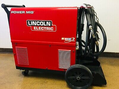 Lincoln Power Mig 350mp Welder Push Model K2403-2