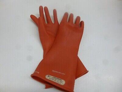 New Salisbury Lineman Gloves Class 00 E0014r9h Length 14 Size 9.5