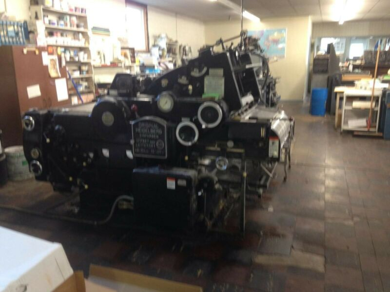 Heidelberg Press Kord 64 Black Model