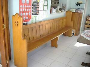 Antiqu Church Pew Mandurah Mandurah Area Preview