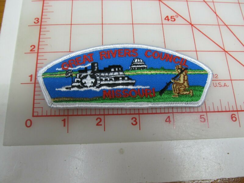 Great Rivers Council CSP collectible PB patch (o34)