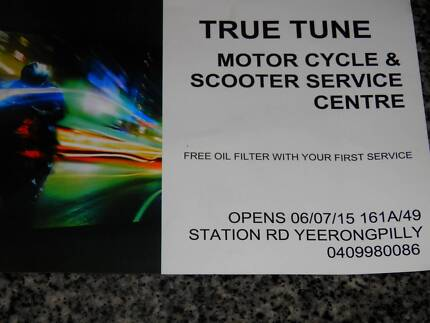 TRUE TUNE MOTORCYCLE AND SCOTER SERVICE CENTRE Moorooka Brisbane South West Preview
