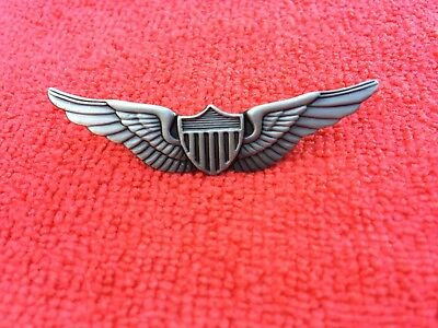 US ARMY AVIATION PILOT WINGS VERY SMALL TIE TAC SIZE MEASURES 3/4 INCHES