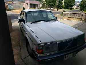 1988 volvo 240 white Werribee Wyndham Area Preview