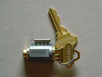 Schlage F Series Knob Cylinder Brass- New C Keyway