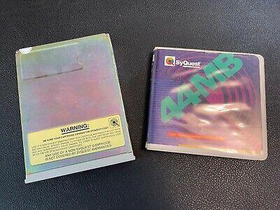 SyQuest SQ555 44MB 5.25 SCSI Tape Drive w/ SQ400 Cartridge COMBO - WW Ship!