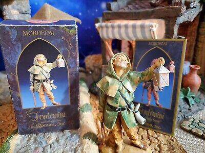 "Fontanini Mordecai Nativity Set Villager 5"" collection1992 Heirloom"