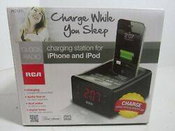 RCA Clock Radio Charging Station for IPhone and IPod