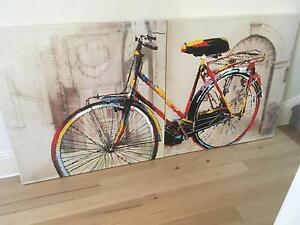 Bicycle Painting Albert Park Port Phillip Preview