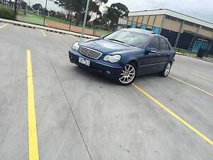 2001 Mercedes-Benz C200 Sedan - With Rego and RWC Footscray Maribyrnong Area Preview