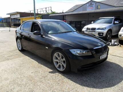 2008 BMW 320I E90 BLACK AUTOMATIC 4D Sedan Lansvale Liverpool Area Preview