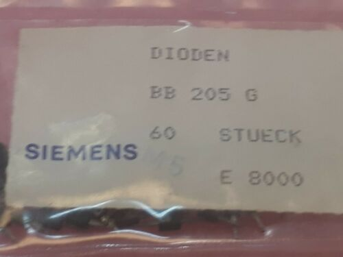 Lot x 120 pcs     Varicap Diode BB205G   Siemens