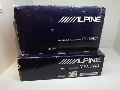 Processore video + monitor Alpine