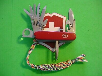 "NTSA SWISS ARMY VICTORINOX MULTIFUNCTION POCKET KNIFE ""CHAMPION"" 1974-2005"