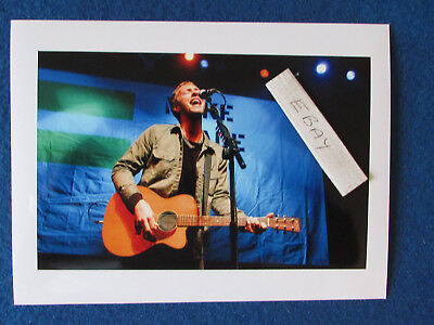 "Original Press Photo - 8""x6"" - Coldplay - Chris Martin - 2002 - C"