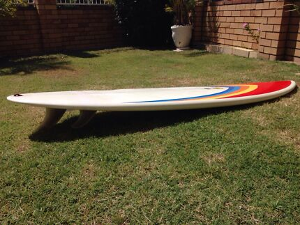 Simon jones single fin channel bottom retro surfboard funboard Surfers Paradise Gold Coast City Preview