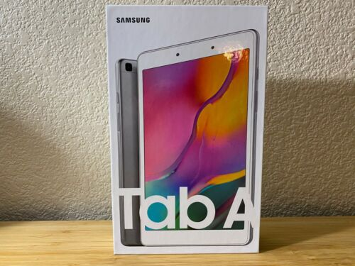 "Brand New & Sealed Samsung Galaxy Tab A 8"" Tablet 32GB Wi-Fi SM-T290 - Silver"