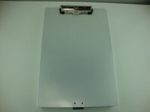 Metal Clipboard Storage Aluminum Binder Form Holder Loaded W/ Contractor Invoice