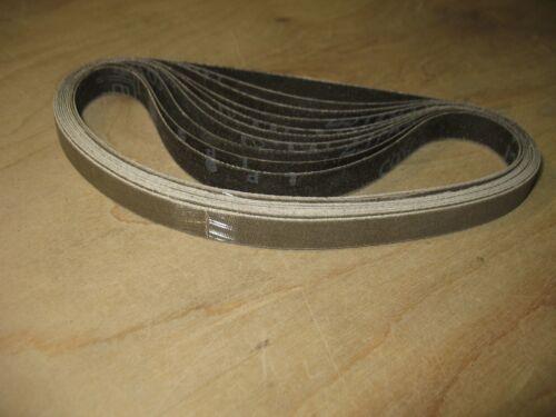 """10- 1/2 x 18"""" 3M Trizact 280 grit sanding belts. Fits Dynafile style sanders."""