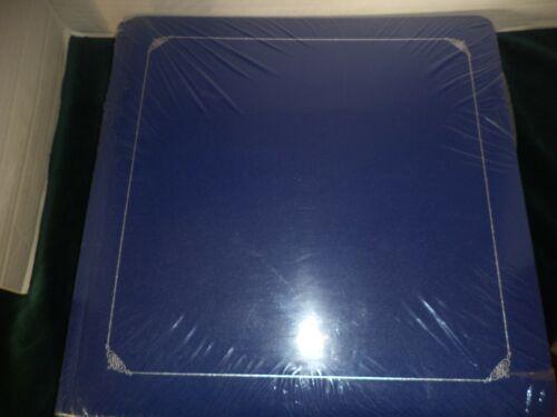 Creative Memories 12 x 12 Scrapbook Album Blue Silver Trim With Pages NIP