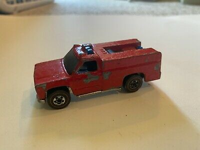 Vintage Hot Wheels Redline 1975 Emergency Squad Red Hong Kong
