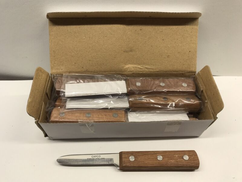 12 CAPCO Oyster Clam Shucking Knife