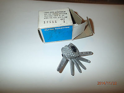 Curtis Cam Set Assembly Key Cutter No.15 - Gm 1935 And Up