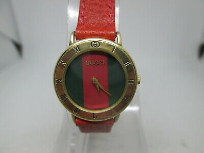VINTAGE GUCCI 3001.L GOLDPLATED QUARTZ LADIES WATCH