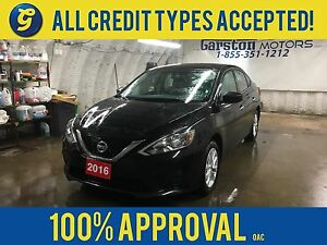 2016 Nissan Sentra SV-R*SUNROOF*CVT*HEATED FRONT SEATS*BACK UP C